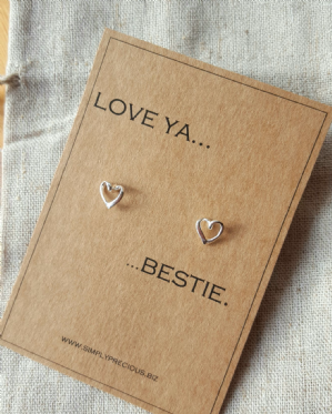 Love Ya Bestie Earrings